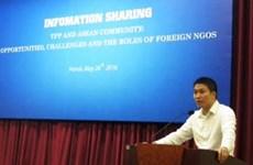 Talk seeks ways to improve NGOs' aid activities