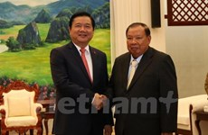 Ho Chi Minh City's Party chief visits Laos
