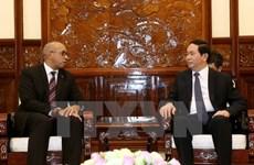 State leader welcomes Cuba, EU ambassadors