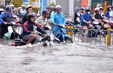 HCM City, experts reject flood control proposal