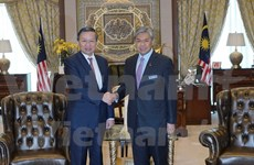 Vietnam, Malaysia solidify security connections