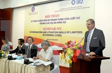 Vietnam, German lawyers share experience at Hanoi conference