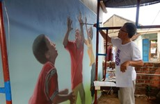 Project to colour central villages with painted houses