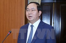 President Tran Dai Quang to visit Laos, Cambodia