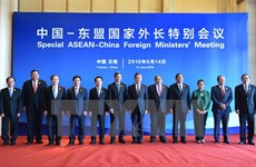 Press statement of ASEAN FMs at meeting with China FM