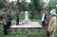 Vietnam, Laos provinces review border marker planting project