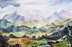 Russian artist inspired by Vietnam