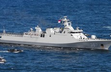 Indonesia detains Chinese boat for illegal fishing