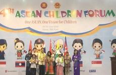 Fourth ASEAN Children Forum opens in Hanoi