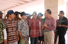 Detained Vietnamese fishermen return home from Indonesia