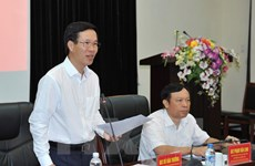 Party official urges efforts to boost external information