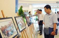 VNA displays photos on Truong Sa archipelago