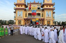 Cao Dai Missionary Church celebrates 60th founding anniversary