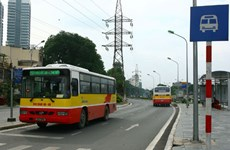 German bank to assist green bus project in Vietnam