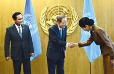 Thai Gov't sends representatives to UN