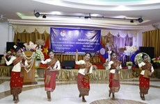 Vietnamese-Lao youth friendship meeting 2016 concludes