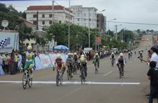 That wins first stage of national women's cycling tournament
