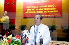 Improved legal framework needed to prevent corruption