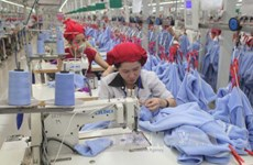 Apparel exports reach 12.6 bln USD in 6 months