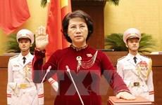 Nguyen Thi Kim Ngan re-elected as 14th NA Chairwoman
