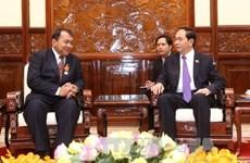 President bids farewell to Cambodian Ambassador