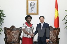 Deputy Prime Minister welcomes WB Vice President