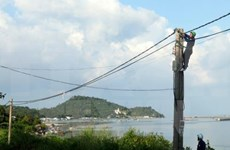 Kien Giang power supply projects benefit islanders