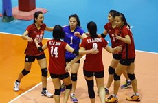 Vietnam secure fourth place at Asian volleyball tourney