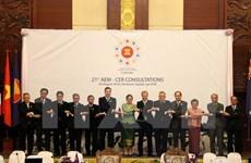 ASEAN, Australia, New Zealand talk to boost trade links