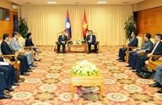 Vietnam, Laos boost financial partnership
