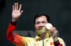 Vinh eyes second Olympic shooting medal