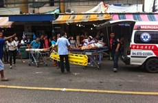 Thailand: five injured in southern bombing