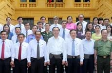 President stresses law abiding spirit