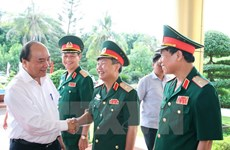 Prime Minister hails Military Region 4 on defence, stability