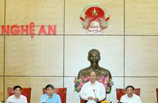 PM asks Nghe An to optimise strength for growth
