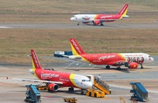 Vietjet flights cancelled due to tropical storm