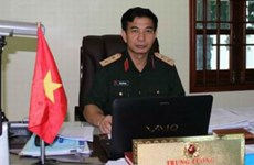 Senior officer meets French group CNIM executive
