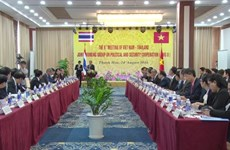 Vietnam-Thailand working group on politics, security convenes