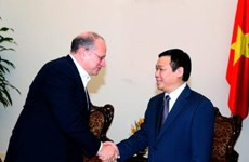 Deputy PM meets AIA Corporation President