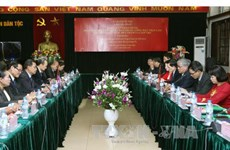 Vietnam, Laos enhance ethnic work