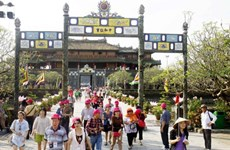 """Golden week"" to lure tourists to Thua Thien-Hue"