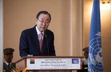 UN Secretary General visits Myanmar