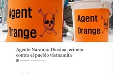 Argentine media highlights consequences of AO/dioxin in Vietnam