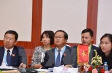 Lao leader lauds ties with Vietnamese legislature