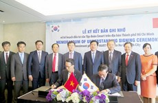 "HCM City, ""magnet"" to attract investment from RoK's conglomerates"