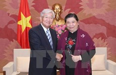 NA Vice Chairwoman wishes for closer ties with WHO