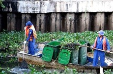 HCM City fights pollution in canals