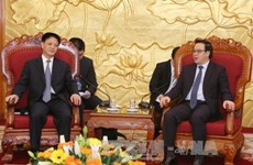 Chinese Communist Party delegation visits Vietnam