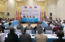 Vietnam, Laos, Cambodia discuss development triangle area