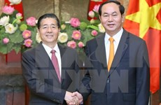 President hails new cooperation deals with Chinese ministry